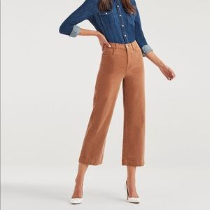 Cropped Alexa Vintage Cord in Penny